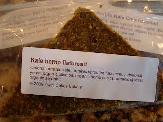 Package of Kale Hemp Flatbread