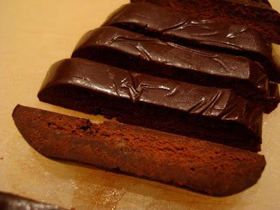 Sliced Raw Vegan Coconut Oil Chocolate