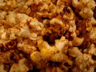 Close up of Cinnamon on Popcorn