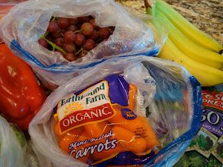 Grapes, Bananas and Carrots