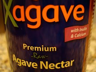 Xagave label Premium Raw Agave Nectar