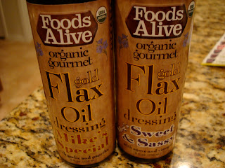 Two containers of Flax Oil Dressing