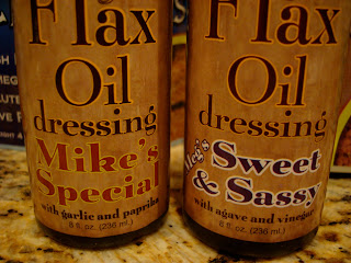 Flax Oil Dressing in Mike's Special and Sweet & Sassy Flavors