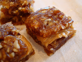 Nut Butter Filled Caramel Bites