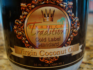 Container of Virgin Coconut Oil