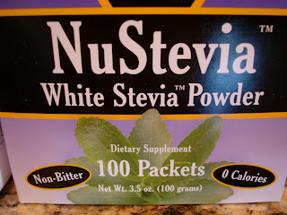 White Stevia Powder