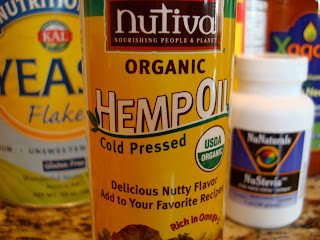 Close up of Organic Hemp Oil