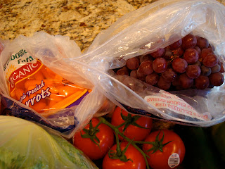 Tomatoes, Carrots, & Grapes