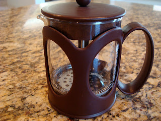 Close up of French Press