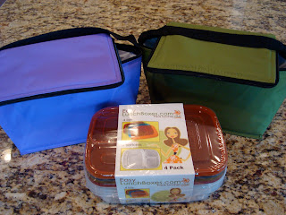 Lunch Bags and Plastic Storage Containers