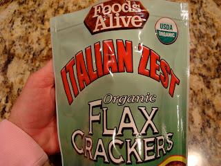 Italian Zest Flax Crackers
