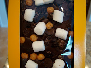 Chocomize with marshmallows
