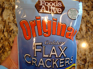 Foods Alive Original Golden Flax Seed Cracker package