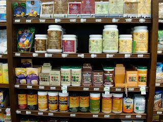 Vega & Manitoba Harvest Hemp products on shelves