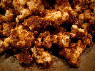 Chocolate Coconut Oil Protein Popcorn