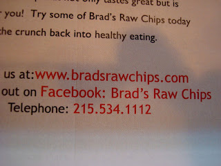 Brad's Raw Chips contact information
