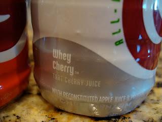 Cheribundi Whey Cherry Flavor
