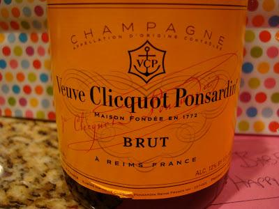 Bottle of Brut Champagne