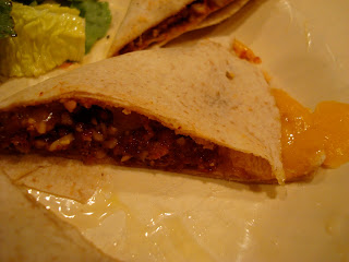 Homemade taco with Vegan Taco Nut Meat