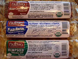 Various Nutiva Hemp bars