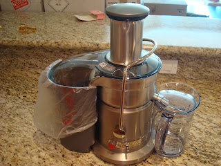 Breville Juicer on countertop