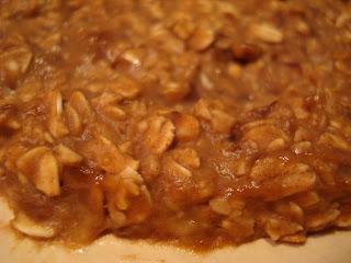 Close up of Raw Vegan Breakfast Cookie