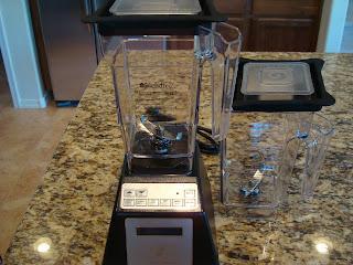 Blendtec Blender on countertop