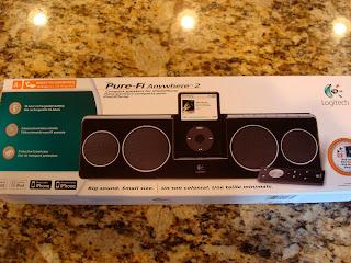 iPod Speaker system in box