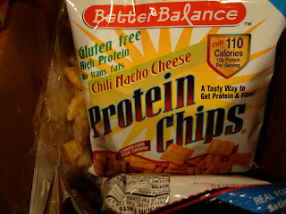 Package of Chili Nacho Cheese Protein Chips