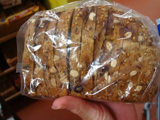 Sliced Muesli Bread