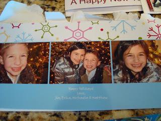 One Christmas Card with Photos