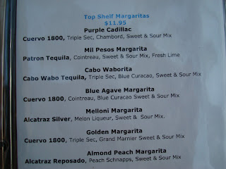 Top Shelf Margarita List