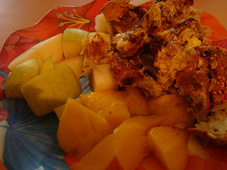 Fruit with Muesli Bread