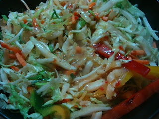Close up of Vegan Stir Fry