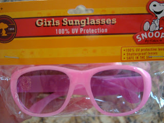 Pink girls sunglasses