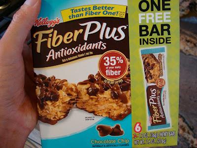 Kellogg's Fiber Plus Bars