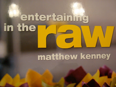 Entertaining in the Raw Book by Matthew Kenney