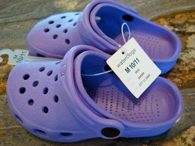 Purple waterclogs