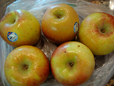 Five Fuji Apples