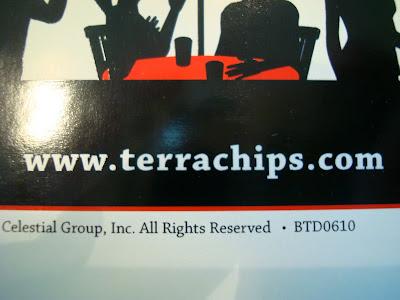 Terra Chips website information