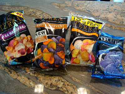 Four bags of Terra Chips