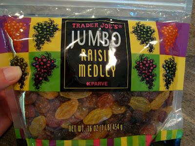 Package of Jumbo Raisin Medley