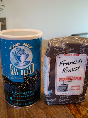 Bay Blend and French Roast Coffees