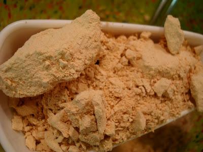 Peanut Flour in scoop