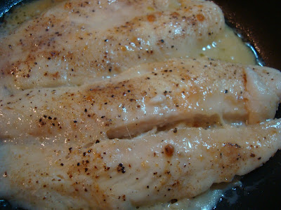 Close up of cooked Grouper
