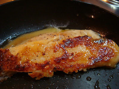 Pan Seared Lemon Pepper Grouper with Sweet Dipping Sauce