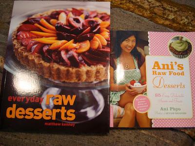 Everyday Raw Desserts and Ani's Raw Food Desserts Cookbooks