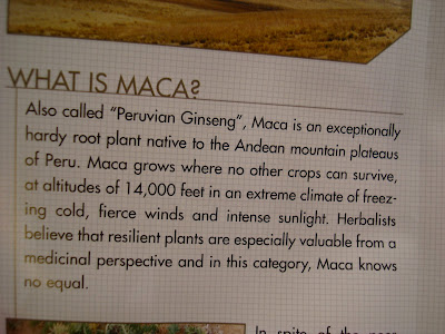 Article on What is Maca?