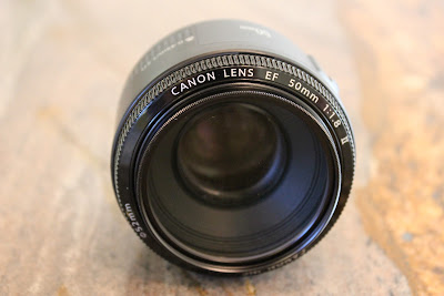 Lens laying on side