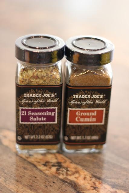 Jars of 21 Seasoning Salute and Ground Cumin